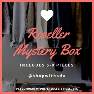Reseller Mystery Box 5-8 Pieces - Some NWT